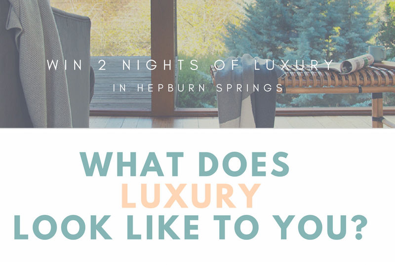 Win luxury Hepburn Springs deals