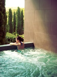 the mineral spa