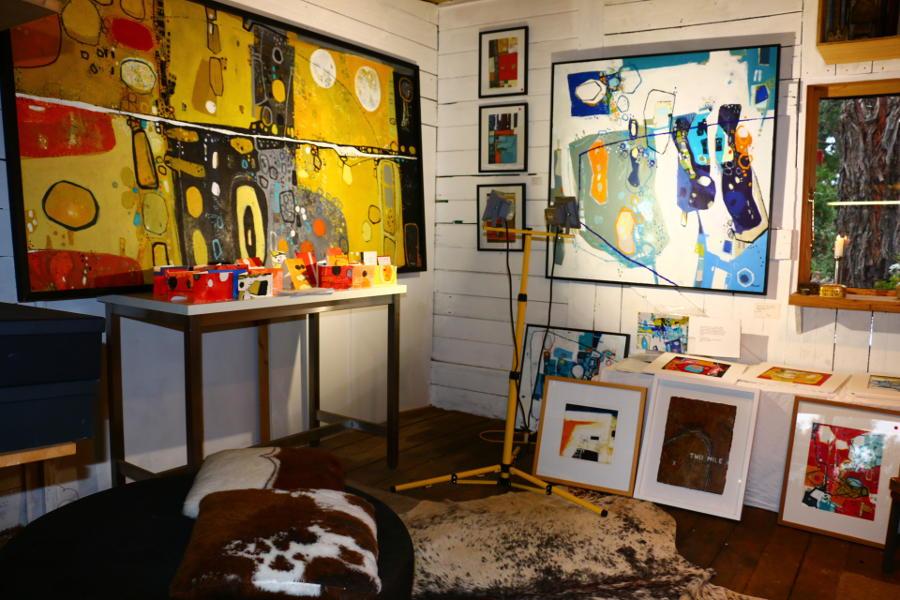 Open Studios Daylesford Macedon Ranges, Greg Mallyon studio